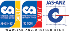 JAS-ANZ accreditation